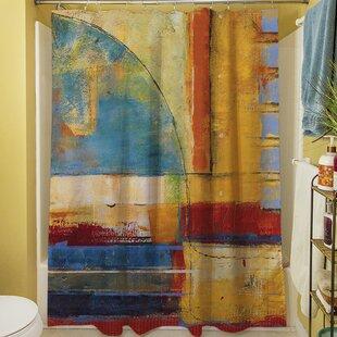 Reviews Copeland I Shower Curtain ByWorld Menagerie