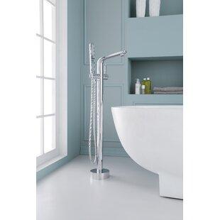 Ariel Bath Single Handle Floor Mounted Fr..