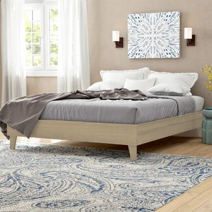 Filey Exceptional Platform Bed by Three Posts