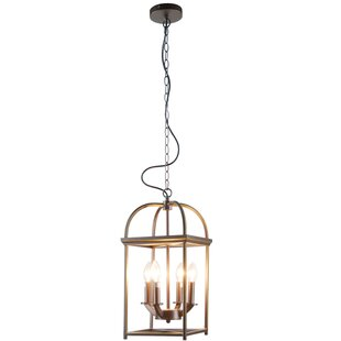 Jayde 4-Light Lantern Chandelier by Willi..