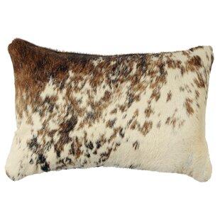 Teddy Leather Lumbar Pillow