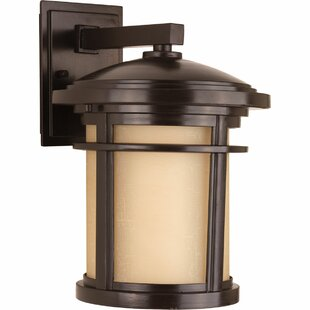 Look for Chamberlain 1-Light Glass Shade Wall Lantern By Bloomsbury Market
