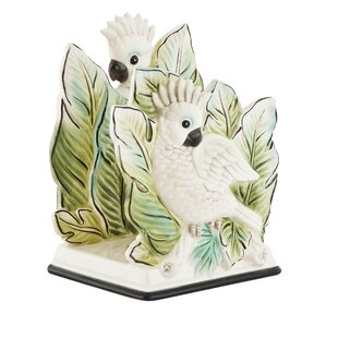 Cockatoo Napkin Holder