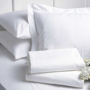 White Twin Flat Sheet