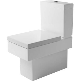 Duravit Vero Dual-Flush Elongated Two-Pie..