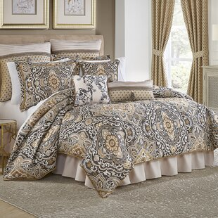 Philomena 4 Piece Comforter Set by Croscill Home Fashions 2019 Sale
