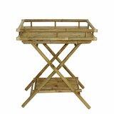 Isleboro Bamboo Tray Table by Bayou Breeze