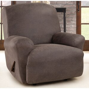 Ultimate Stretch Box Cushion Recliner Slipcover & Big Man Recliner Covers | Wayfair islam-shia.org