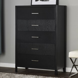 Brayden Studio DeBary 5 Drawer Chest