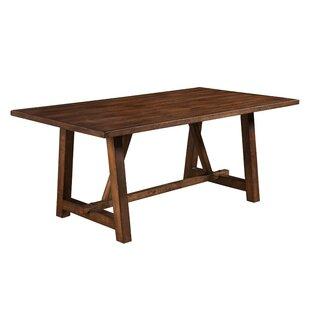 Gracie Oaks Anderle Rubberwood Dining Table