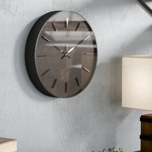 Hastings 11 Wall Clock by Union Rustic Office Furniture