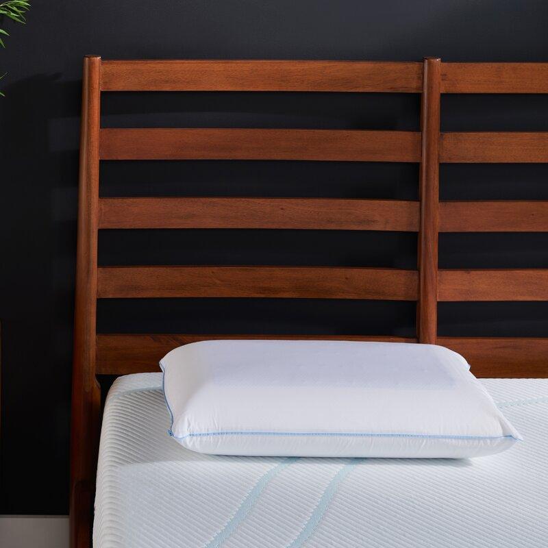 tempur cloud breeze dual cooling memory foam medium support pillow