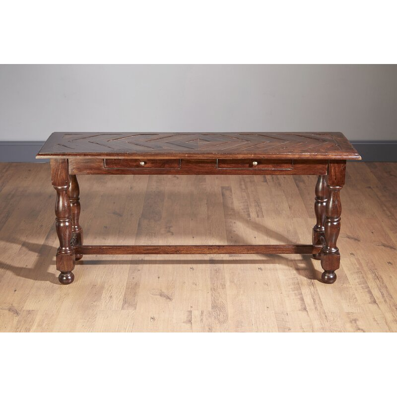 AA Importing Console Table  Color: Pecan