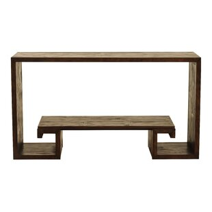 Curate Home Collection Bamboo Console Table