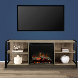 Toussaint TV Stand for TVs up to 50with Fireplace by Williston Forge