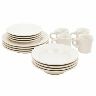 Buffalo 16 Piece Dinnerware Set Service For 4  sc 1 st  Wayfair & Clay Dinnerware | Wayfair
