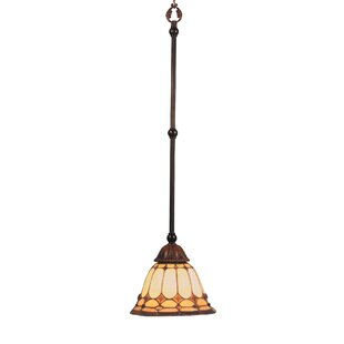 Fleur De Lis Living Barker Ridge 1-Light Cone Pendant