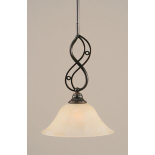 Fleur De Lis Living Thomason 1-Light Mini Pendant