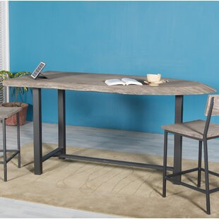Speedwell Counter Height Solid Wood Dining Table by Union Rustic Herry Up