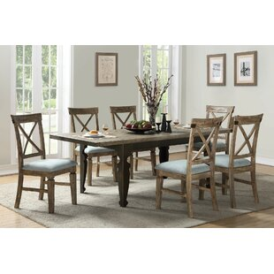 Kensal 7 Piece Extendable Dining Set