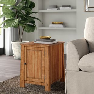 Hemsworth End Table with Storage by Greyleigh