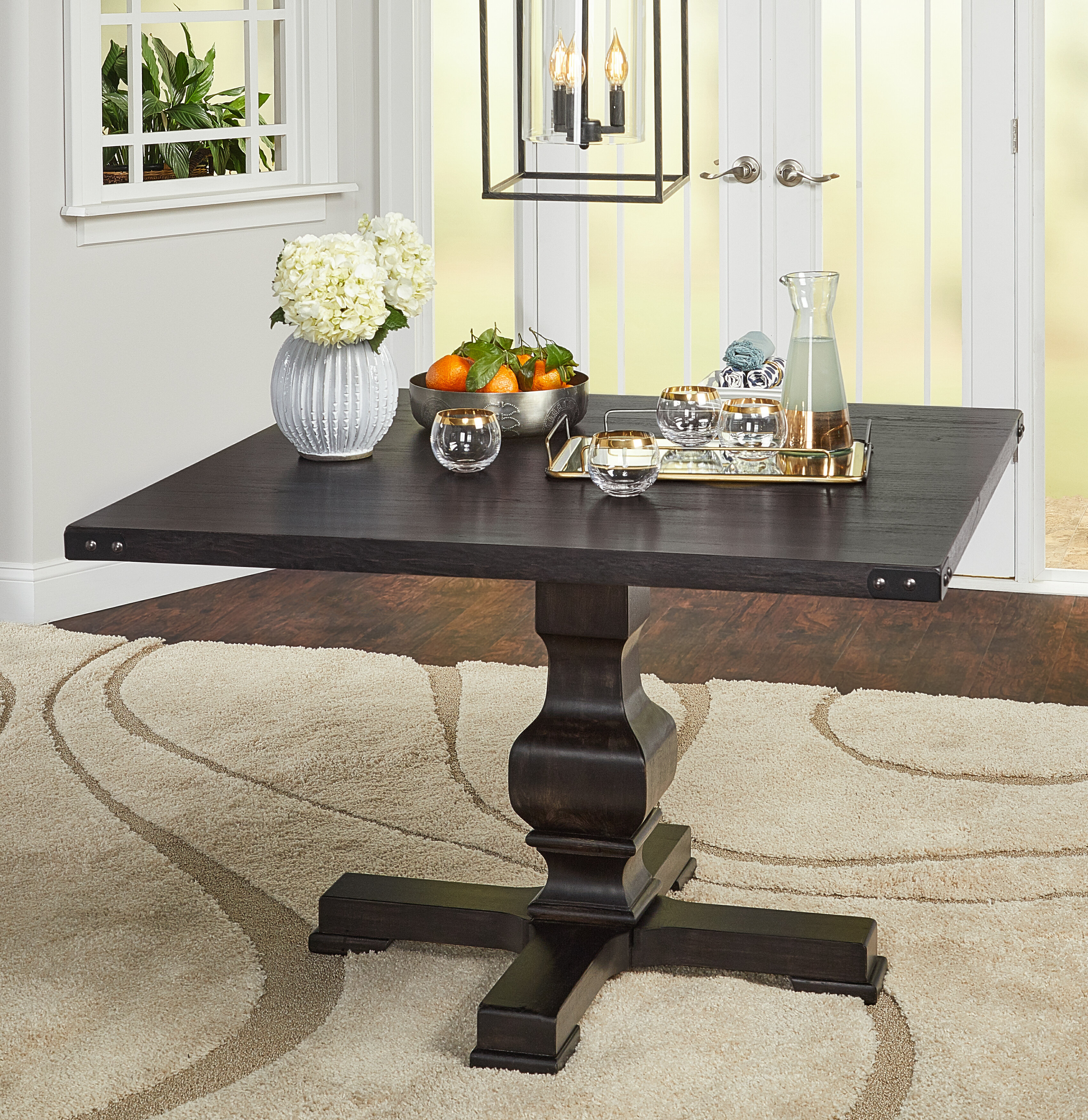 Gracie Oaks Kaiser Dining Table Reviews Wayfair