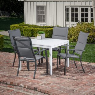 Latitude Run Frampton Cotterell 5 Piece Dining Set