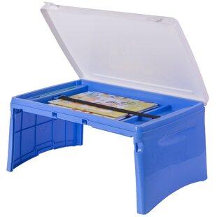 Bearcreek Kids Portable Foldable Plastic Lap 205 Art Desk by Zoomie Kids