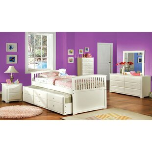 Saldivar Platform Bed with Trundle and Drawer by Harriet Bee