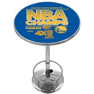 NBA Golden State Warriors 2015 Champions Pub Table Trademark Global
