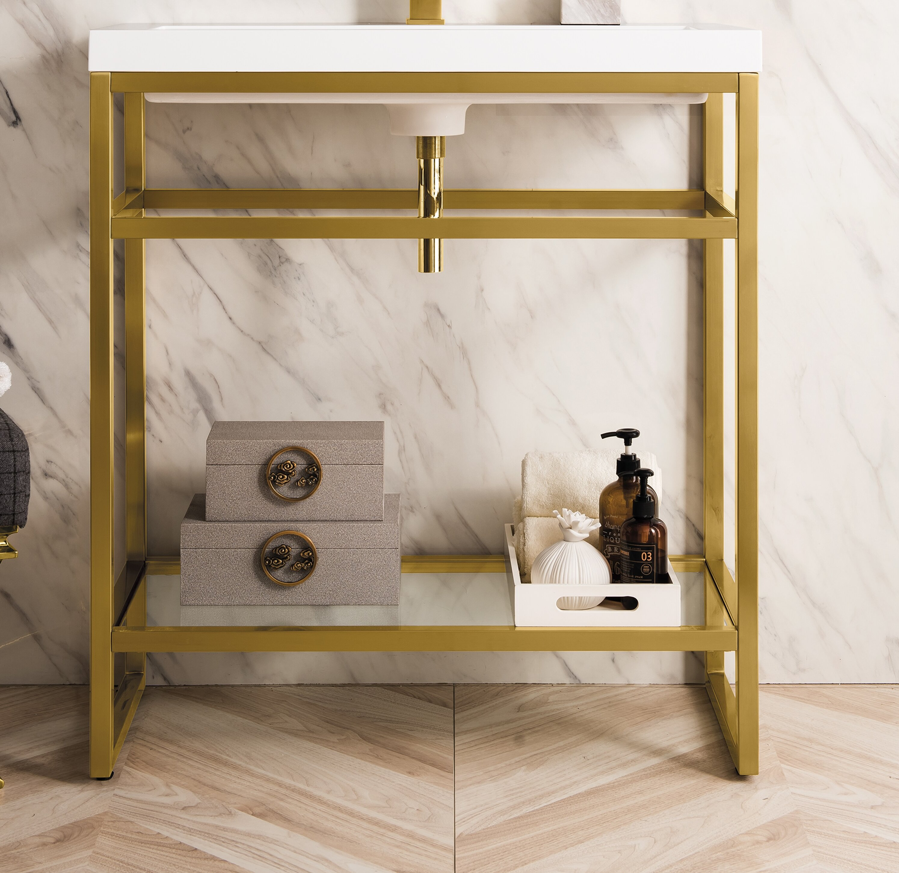 James Martin Furniture Boston 31 5 Single Bathroom Vanity Wayfair