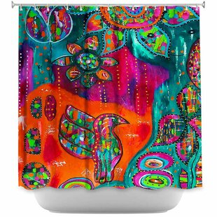 Spring Forth Single Shower Curtain