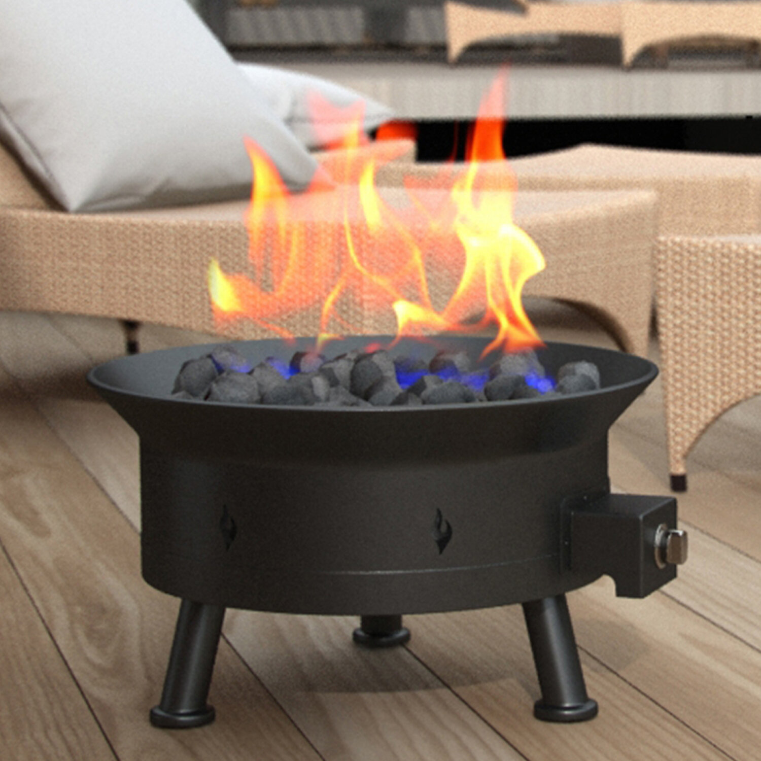Portable Propane Fire Pits You Ll Love In 2021 Wayfair