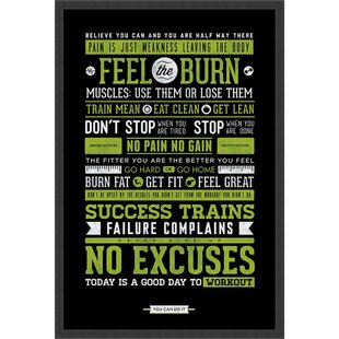 Gym Poster Wayfair