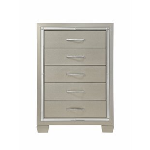 Latitude Run Lawlor 5 Drawer Chest