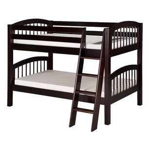 Oakwood Twin Over Twin Wood Bunk Bed by Harriet Bee Purchase