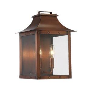 Hayes 2-Light Outdoor Wall Lantern