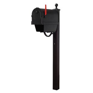 Savannah Curbside Mailbox with Main Street Post Included by Special Lite Products