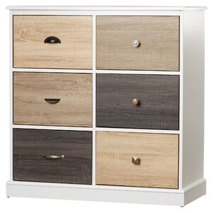 Tunney Storage 6 Drawer Accent Chest