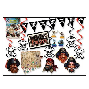Pirate Party Set By The Party Aisle