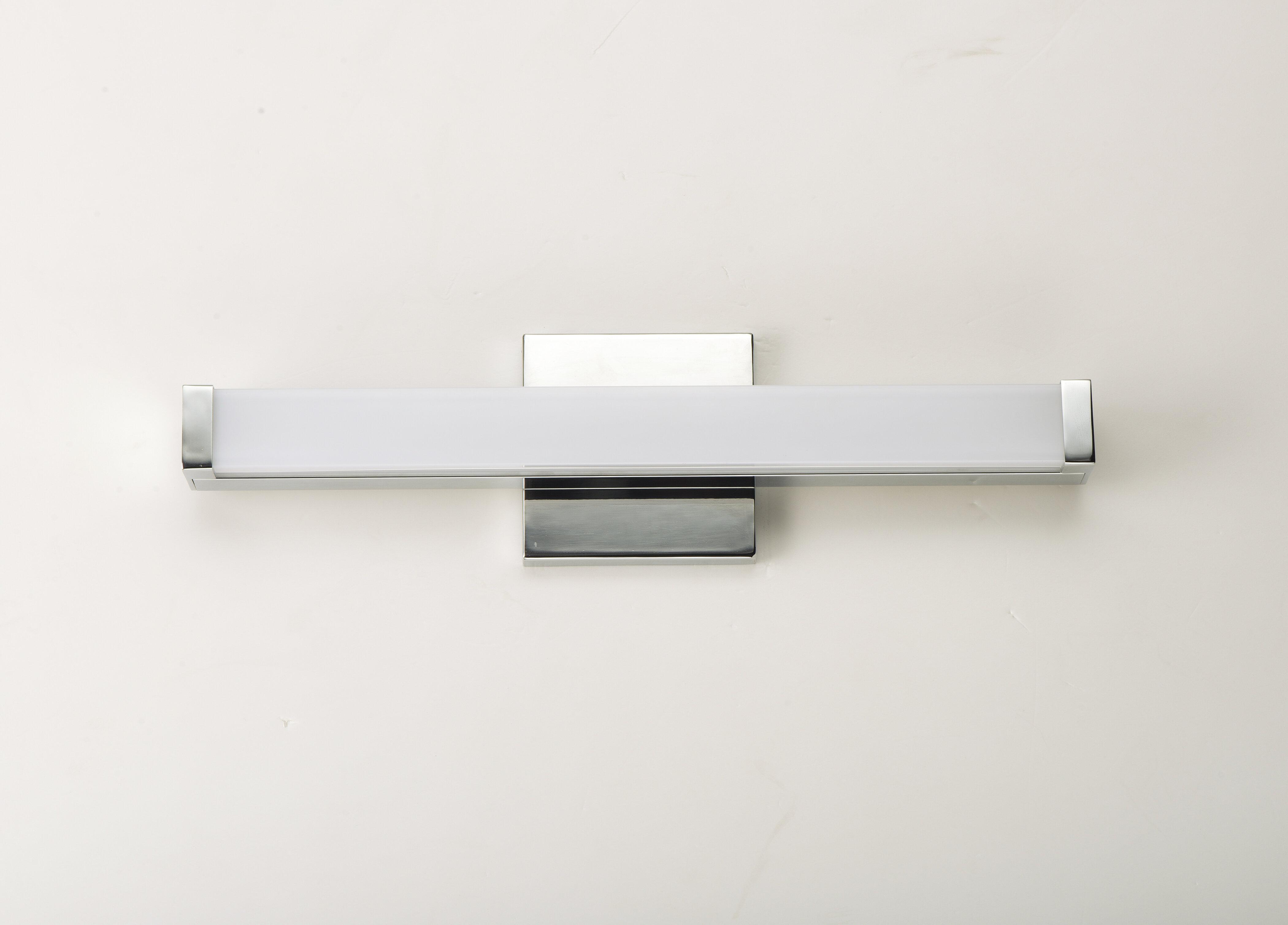Ebern Designs Lavenia 1 Light Dimmable Led Bath Bar Reviews Wayfair Ca