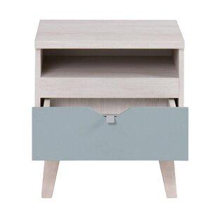 Emmeline 1 Drawer Bedside Table By Isabelline