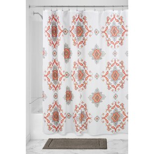 Medallion Paisley Shower Curtain ByInterDesign