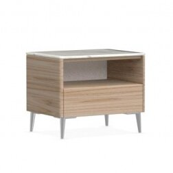Boston - 1 Drawer Ceramic Top Nightstand