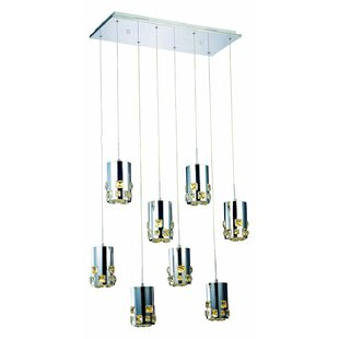 Royce 27-Light LED Cluster Pendant by Orren Ellis