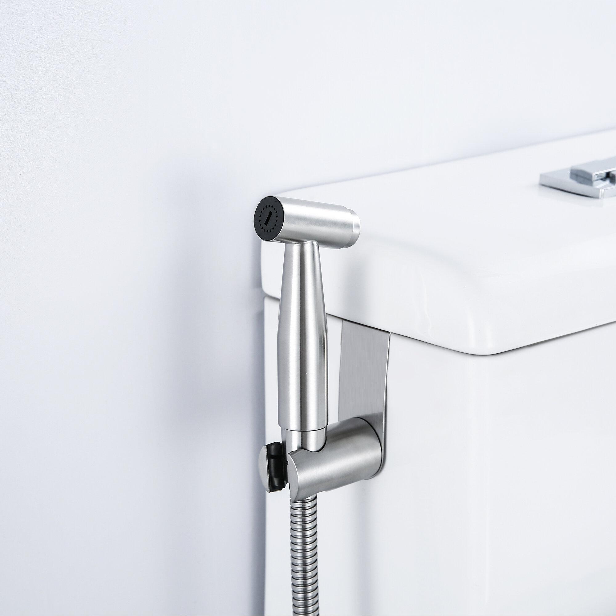 Bathroom Handheld Toilet Bidet Shower Sprayer Hose Holder Wall Bracket
