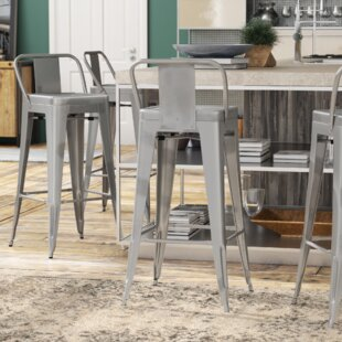 Halie 29.5 Bar Stool (Set of 4) Trent Austin Design