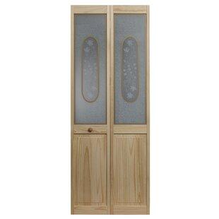 Glass Bifold Pantry Doors | Wayfair
