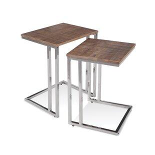 Lillegard 2 Piece Nesting Tables by Orren Ellis