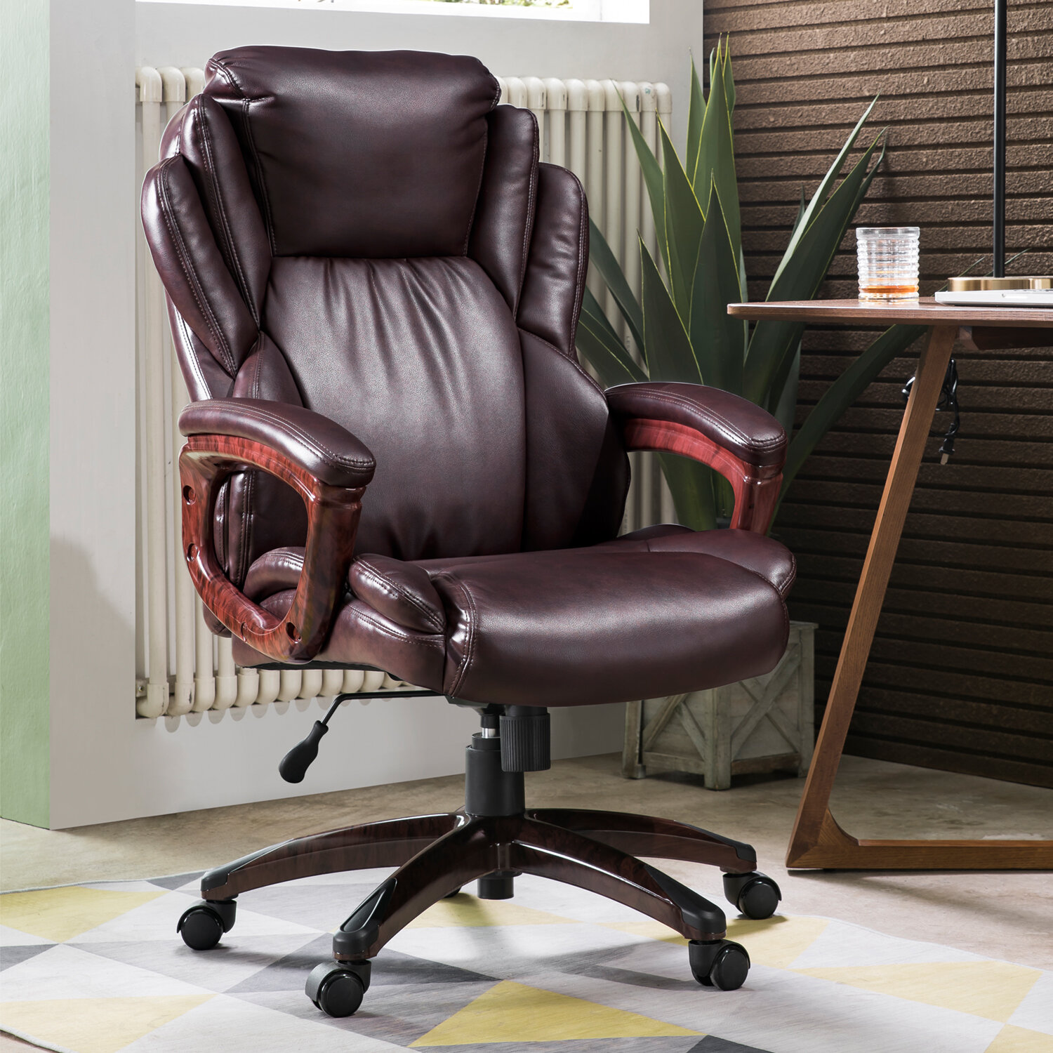 Brayden Studio Albaugh Executive Chair Reviews Wayfair